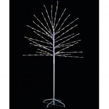 Warm White LED Twig Tree With Timer - 1.8m