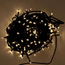 Battery Operated 14.4m Length Of 192 Warm White Indoor & Outdoor Multi Effect  LED Fairy Lights With Timer On Black Cable