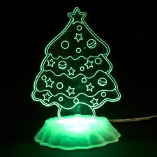 Christmas Tree Table Lamp With USB Plug