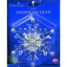 Battery Operated Colour Changing LED Snowflake Light