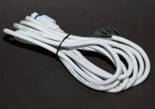 MK Quick Fix 3m Indoor and Outdoor Extension Lead. White Cable