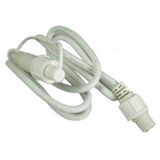 Light Creations 1 Metre White  Indoor and Outdoor Extension Lead