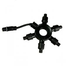 Light Creations 5 Way Multi Route Black Connector