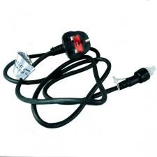Festilight 1.5m Mains Black Cable And UK Plug