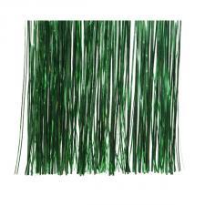 Holly Green Lametta - 50cm x 40cm
