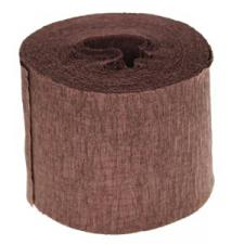 Chocolate Crepe Paper Streamer - 10m