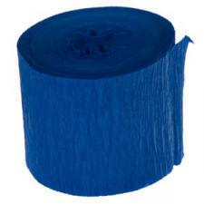 Royal Blue Crepe Paper Streamer - 10m