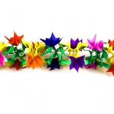 Multicolour Paper Garland - 4m x 18cm x 18cm
