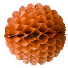 Orange Wavy Paper Ball - 40cm