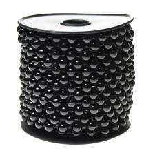 Black Bead Chain Garland - 8mm x 10m
