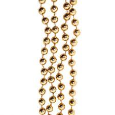 Soft Caramel Bead Chain Garland - 8mm x 10m
