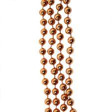 Terracotta Brown Bead Chain Garland - 8mm x 10m