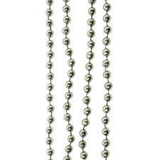 Warm Grey Bead Chain Garland - 8mm x 10m