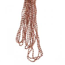 Burnt Orange Diamond Bead Garland - 2.7m