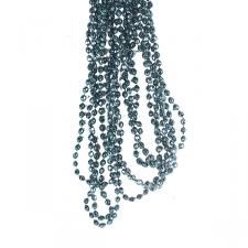 Petrol Blue Diamond Bead Garland - 2.7m