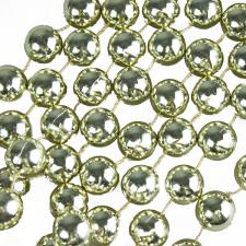 Satin Gold Bead Chain Garland - 2.7m
