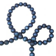 Blue Matt Bead Chain Garland - 180cm