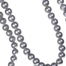 Silver Matt Bead Chain Garland - 180cm