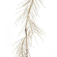 Acylic Ice Garland With Gold Glitter - 120cm