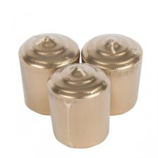 Metallic Gold Votive Candles - 3 x 5cm