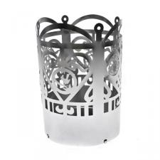 Jette Frolich Brushed Silver Metal T Light Holder
