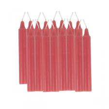 Christmas Red Christmas Tree Candles - Pack Of 16