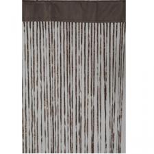 Brown Fabric Deco Curtain - 90cm x 200cm