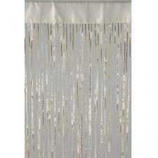 Cream Fabric Deco Curtain - 90cm x 200cm
