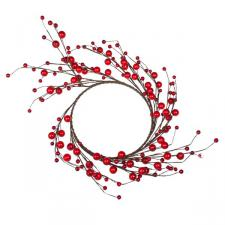 Decorative Red Berry Wreath