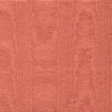 Pack Of 20 Dinner Paper Napkins - Rust Moire Design