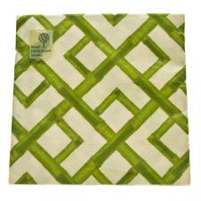 Green Bamboo Design Paper Napkins