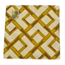 Natural Bamboo Design Paper Napkins