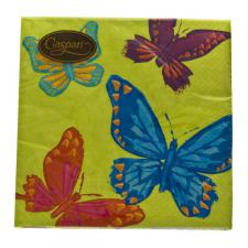 Butterflies Design Triple Ply Paper Napkins