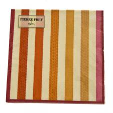 Orange Triple Ply Sable Design Napkins