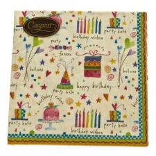 ''Let's Celebrate'' Birthday Party Design Napkins