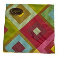 Soleil Geometric Shapes Design Napkins