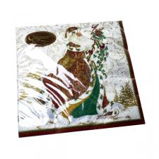 Christmas Lunch Napkins - Father Christmas