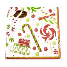 Christmas Lunch Napkins - Christmas Sweets