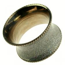 Peggy Wilkins Silver Solar Design Napkin Ring