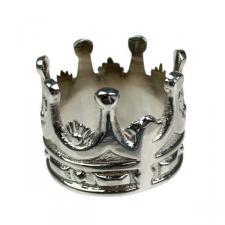 Silver Crown Napkin Ring