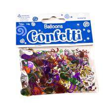 Multicoloured Balloon Party Table Confetti