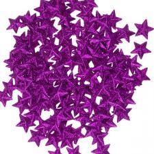 Pink 3D Star Confetti