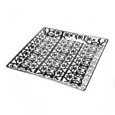 Medium Decorative Square Tray - 24cm