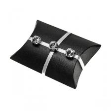 Black Silk Bustina Favour Box