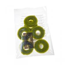 Apple Green Decorative Rings - 6 Pack