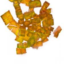 Decorative Orange Gel Cubes