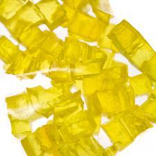 Decorative Yellow Gel Cubes