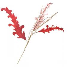 Red And Gold Acanthus Pick - 35cm