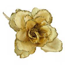 Gold Decorative Flower - 15cm