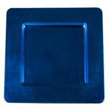 Standard Blue Square Charger Plate - 33cm x 33cm